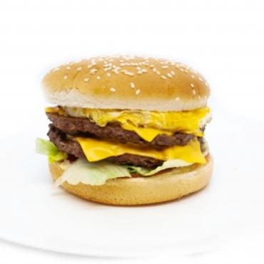 Egg burger veggie