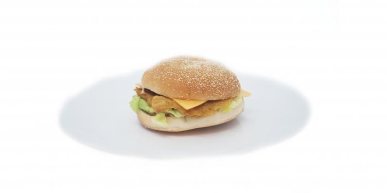 Chicken burger végan