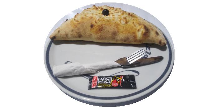 Pizza Calzone Veggie
