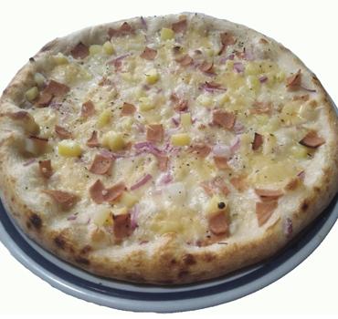Pizza Raclette végan