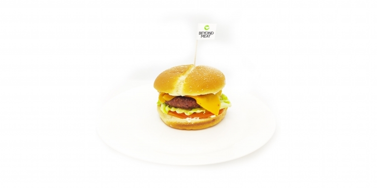 Burger beyond meat végétarien