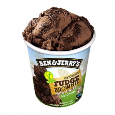 Ben & Jerry's Vegan Chocolate Fudge Brownie