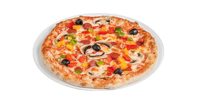 Pizza Orientale Végan