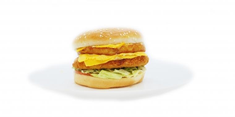 Crousty burger beyond meat Vegan